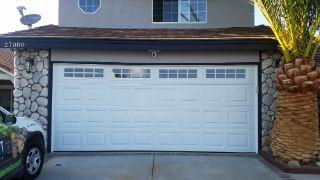 new garage door installed
