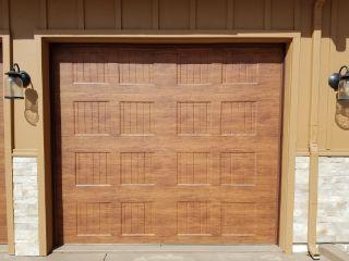 single garage door install by Executive Entries