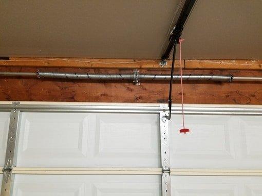 garage door spring overhead
