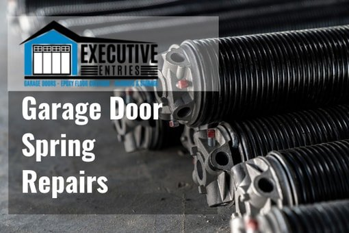 garage door spring repairs by Executive Entries